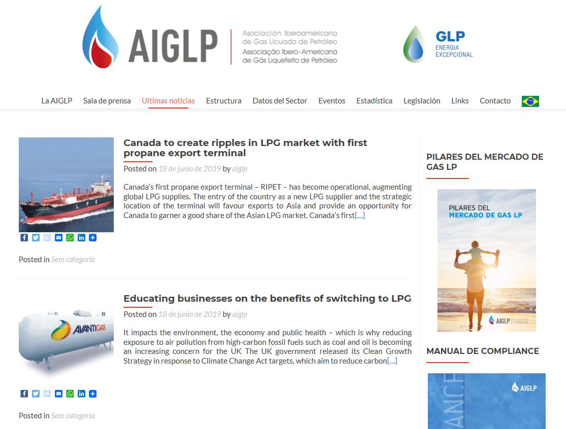 ¡Conozca Más Del Sitio Web De La AIGLP!