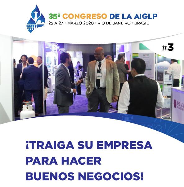 35º Congreso De La AIGLP - ¡Traiga su empresa para hacer buenos negocios!