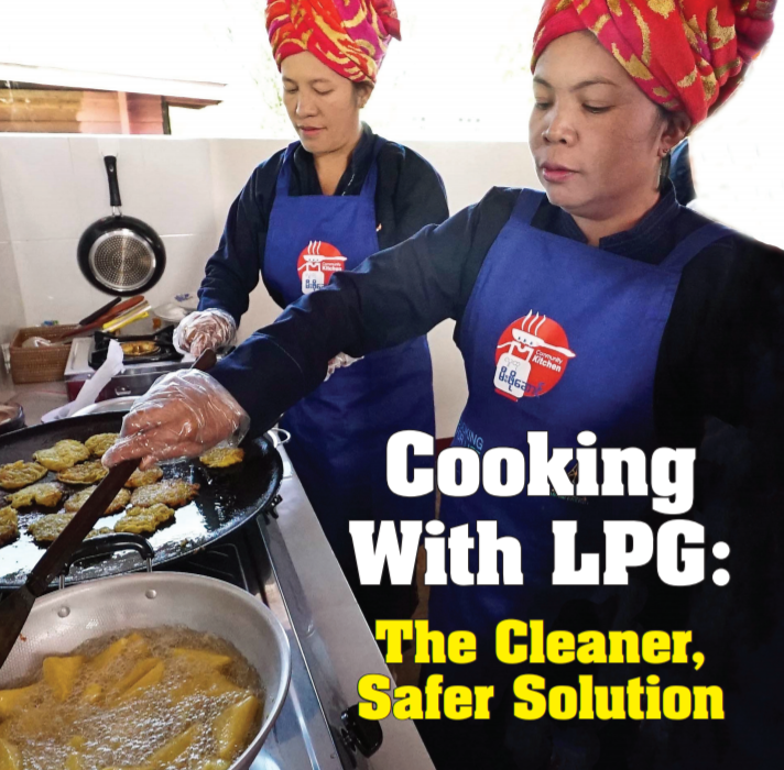 Cooking with LPG: The Cleaner, Safer Solution
